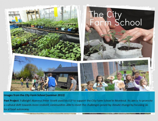 City farm school