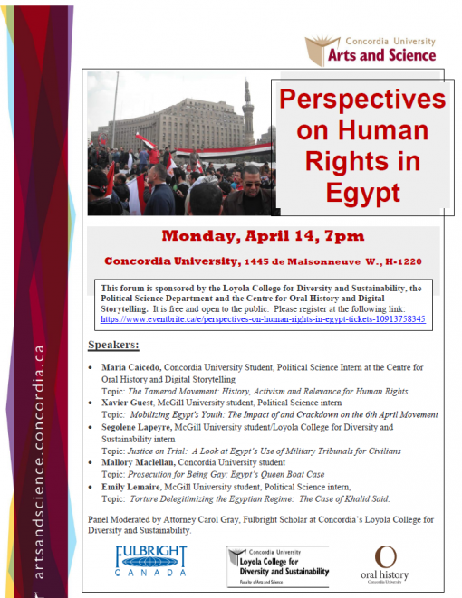 Prespective on Human Rights in Egypt