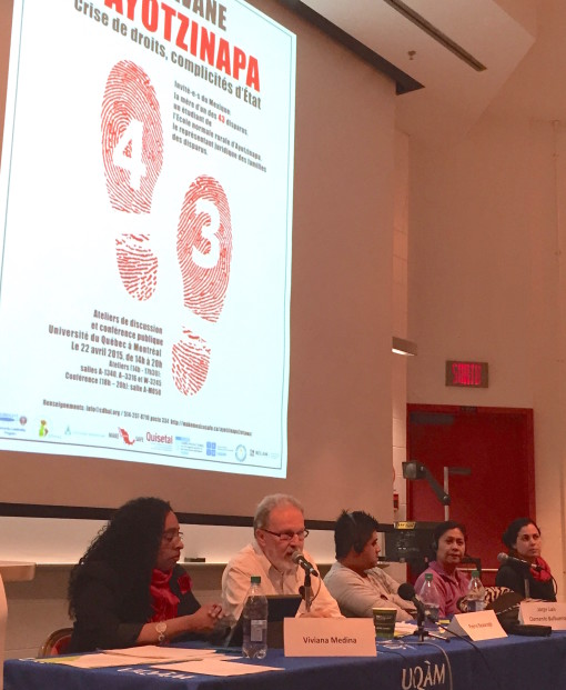 Panel with Mexican Delegation at UQAM