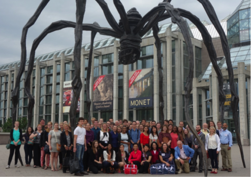 2015-16 Orientation for Fulbright and Killam, September 2015 National Art Gallery, Ottawa