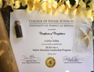 Learning and Living Traditional Laws in Hawai'i - Fulbright